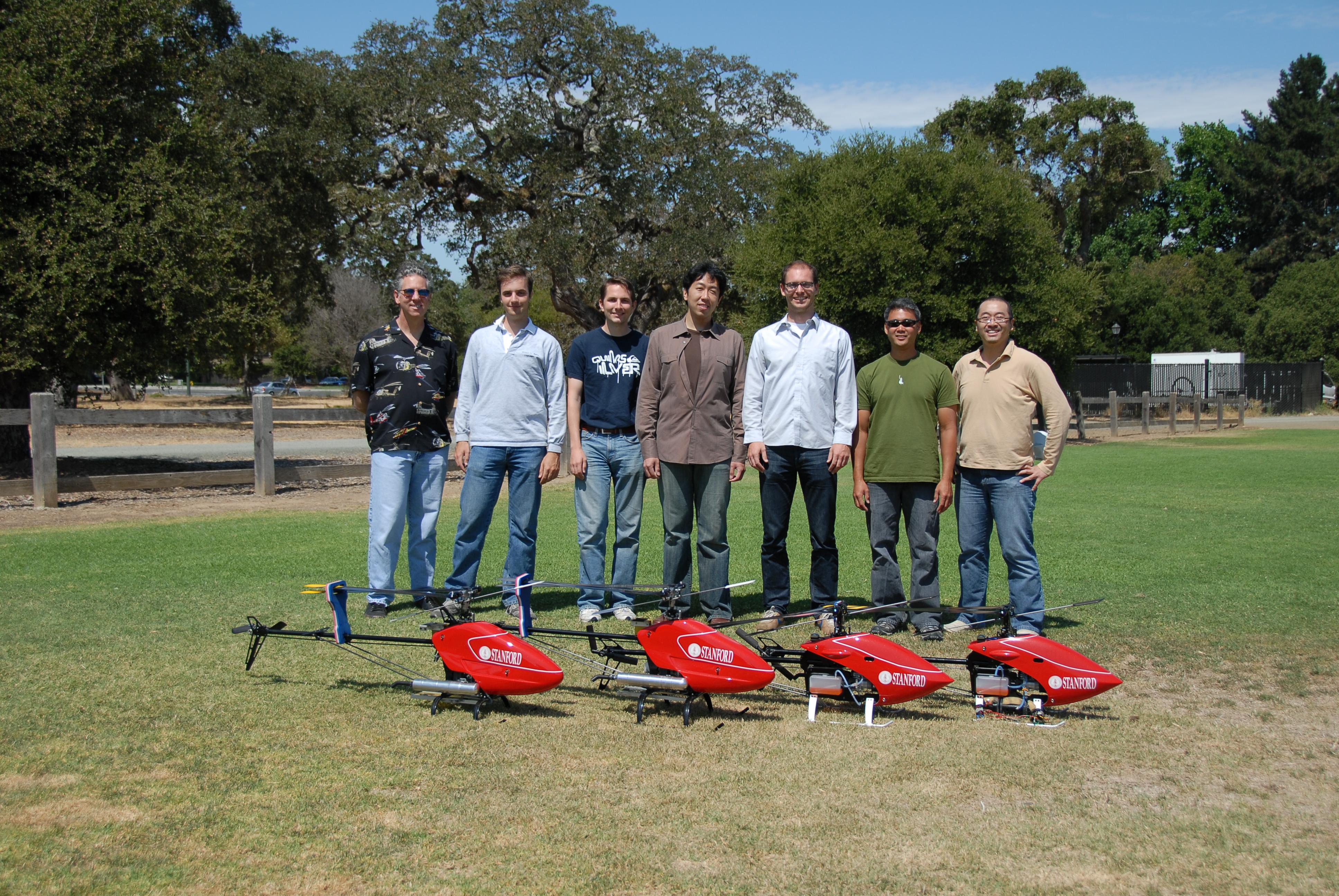 The Stanford Autonomous Helicopter: Photos